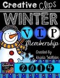 Creative Clips WINTER VIP Membership {Creative Clips Digit