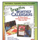 Creative Monthly Calendars - Fall Only Edition