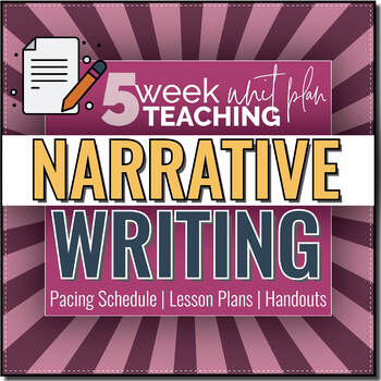 4th Grade Narrative Writing Graphic Organizer