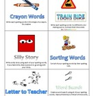 Creative Spelling Task Cards