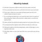Creative Writing - A Mixed-Up Animal