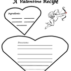 Creative Writing-A Valentine Recipe