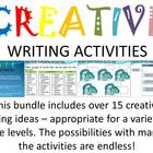 Creative Writing Activity Bundle