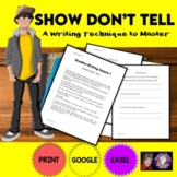 Creative Writing Lesson 1: Show, Don't Tell