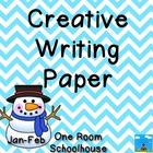 Creative writing Paper January/February