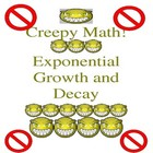 Creepy Lesson on Algebra Exponential Growth & Decay Specia