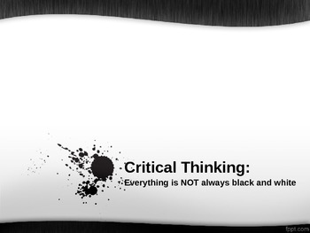 Search Results Critical Thinking Powerpoint Presentation - File PSD