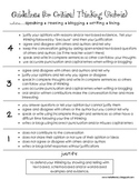 Critical Thinking Rubric - Aligned to Common Core