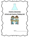 Critical and Creative Thinking - Invention Unit Based on SCAMPER