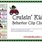 Cruisin' Kids Behavior Clip Chart