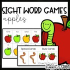 Crunch! {A Differentiated Apple Sight Word Game}