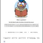 Cryptogram Puzzle | Making Predictions Activity | Literacy
