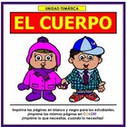 Cuerpo Thematic Unit in Spanish