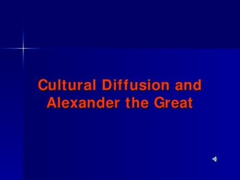 Download this Cultural Diffusion And Alexander The Great picture