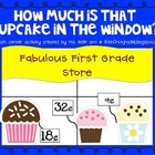 Cupcake Counting Math Center