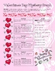 Cupid Valentines Day Coordinate Graphing / Ordered Pairs Practice