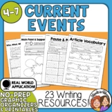 Current Events Printables - Use with Any Article! Great fo