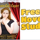 Freebie: Curtain Call Caper novel study pack