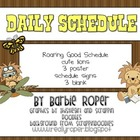 Custom Order LIon Daily Schedule for Kimberly