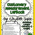 Customary Measurement Lapbook {Common Core Aligned}