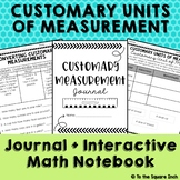 Customary Units of Measure, Journal and Activities