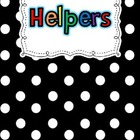 Customizable Helper Poster Chart