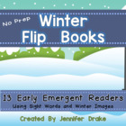 Cut, Stack, Staple, Read!  Early Emergent Readers ~Winter Pack~