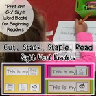 Cut, Stack, Staple, and Read - Little Books to Develop Flu
