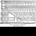 Cutaway Cross Section of the Colosseum / Coliseum