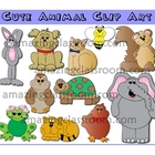 Cute Animal Clipart Clip Art Graphics Images