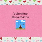 Cute Valentine Bookmarks