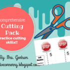 Cutting Skills Pack- Cutting Practice for Beginning Scissor Users
