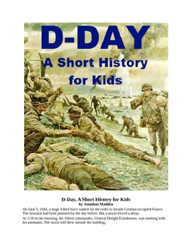 D-Day - A Short History for Kids