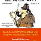 D1309  America and WWI COMPLETE eBOOK UNIT!