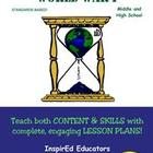 D4113  World War I COMPLETE EBOOK UNIT!