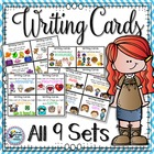 Writing - Writing Cards - BUNDLED - First 7 SETS