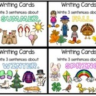 D5 Work on Writing - Writing cards SET 2
