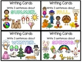 WRITING - Writing Cards SET 2