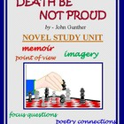 DEATH BE NOT PROUD Study Unit