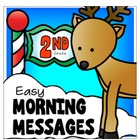 DECEMBER - Easy Morning Messages - 2nd Grade