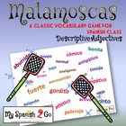 DESCRIPTIONS/GAMES:  Spanish--Classic Flyswatter Game
