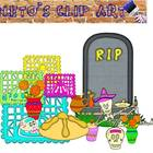 DIA DE MUERTOS / DAY OF THE DEAD CLIP ART SET