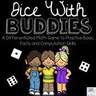 Dice with Buddies Math Centre Game