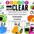 DN Cursive Alphabet Line (Bright & Clear Decor)