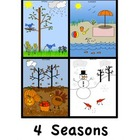 DRAW! 4 SEASONS  by Karen Smullen