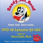 DVD 10 in the Ready, Set, Read: DVD Lesson Series, Lessons 91-100