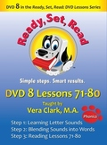 DVD 8 in the Ready, Set, Read: DVD Lesson Series, Lessons 71-80