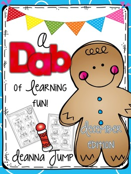 Dab of Learning Fun December {No Prep Printables for Skills Practice & Review}