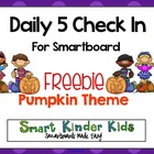 Daily 5 Choices Smartboard Freebie