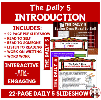 Daily 5 Introduction Beginning of Year Powerpoint FREE